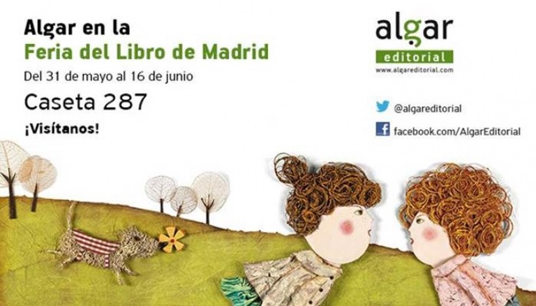 Algar Editorial en la Feria del Libro de Madrid