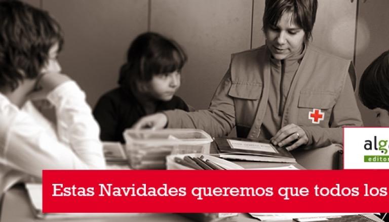 Cruz Roja y Algar Editorial lanzan una campaña de fomento lector para estas Navidades