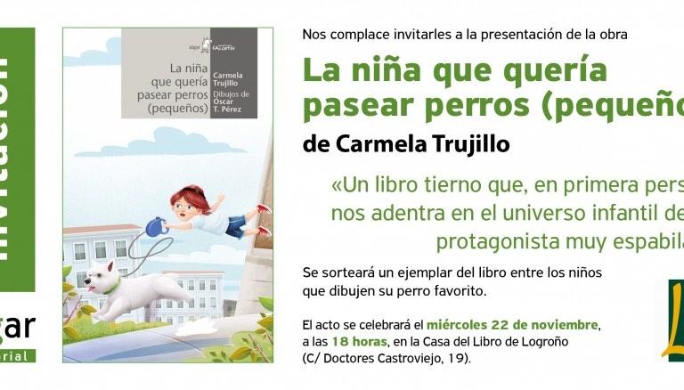 No os perdáis las próximas citas con Carmela Trujillo