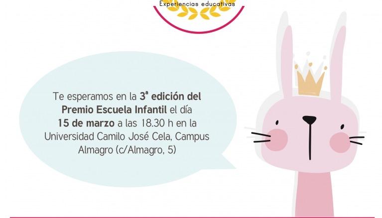 Premios Escuela Infantil 2018