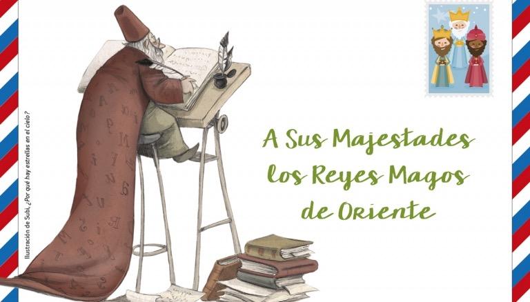 ¡Escribe tu carta a los Reyes Magos con Algar!