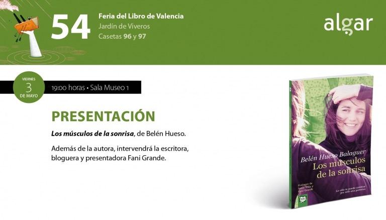 ¡Te esperamos en la Feria del Libro de Valencia!