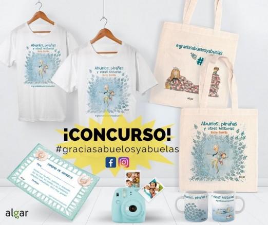 ¡Participa en el concurso del nuevo álbum de Rocio Bonilla! #graciasabuelosyabuelas