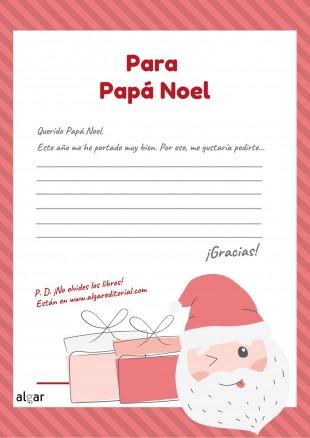 Aquí tienes la carta para Papá Noel