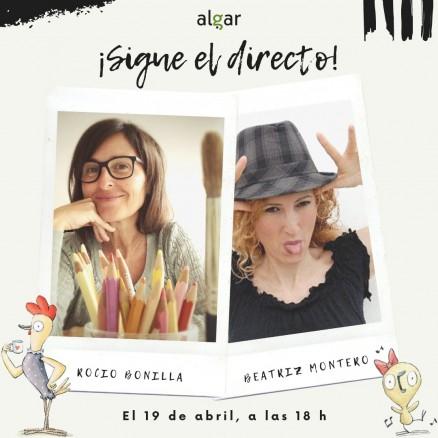 Directo entre Rocio Bonilla y la cuentacuentos Beatriz Montero