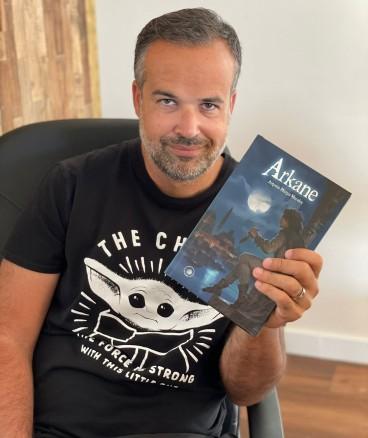 Antonio Martín publica 'Arkane', sexta entrega de 'La Horda del Diablo'