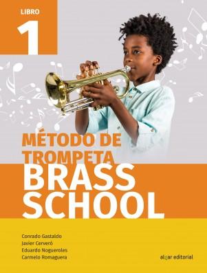 Método de trompeta. Brass School 1