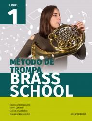 Método de trompa. Brass School 1