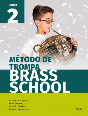 Método de trompa. Brass School 2