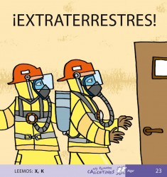 ¡EXTRATERRESTRES! (Leemos: X, K)