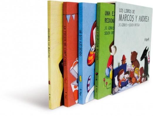Los libros de Marcos y Andrea