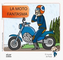 La moto fantasma Mayúscula y manuscrita