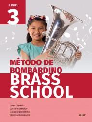 Método de bombardino. Brass School 3