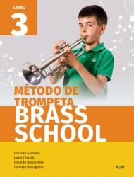 Método de trompeta. Brass School 3