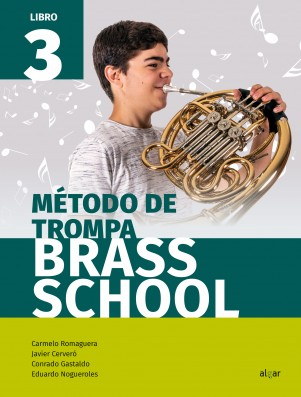 Método de trompa. Brass School 3