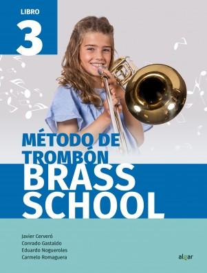 Método de trombón. Brass School 3