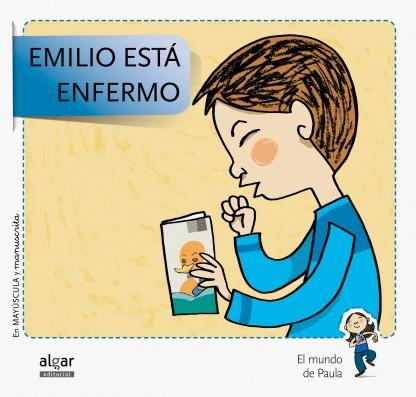 Emilio está enfermo Mayúscula y manuscrita