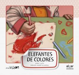 Elefantes de colores