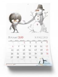 Calendario Minimoni gallego