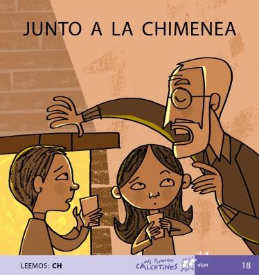 JUNTO A LA CHIMENEA (LEEEMOS: CH)