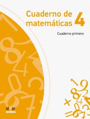 Cuaderno de Matemáticas 4 (cuaderno primero)