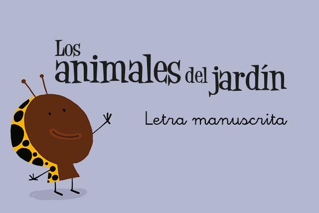 Los Animales del Jardín (Letra manuscrita)