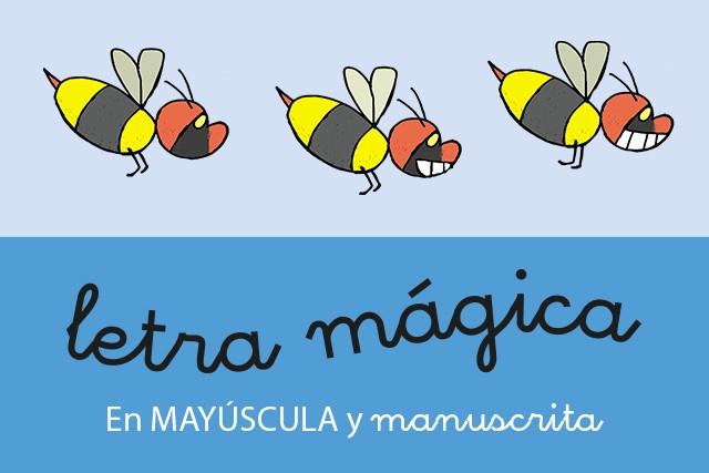 Letra Mágica (En manuscrita y en mayúscula)