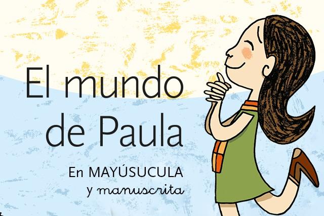 El Mundo de Paula (En mayúscula y manuscrita)