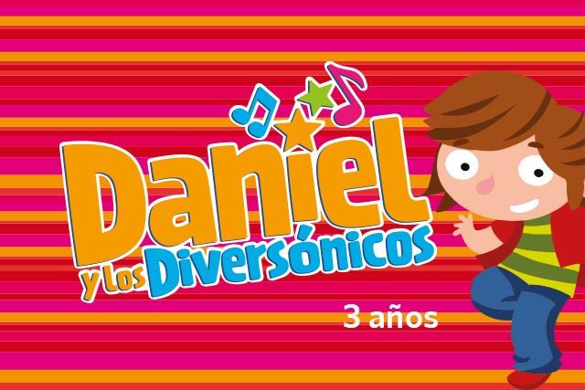 Daniel y los diversónicos (3 años)