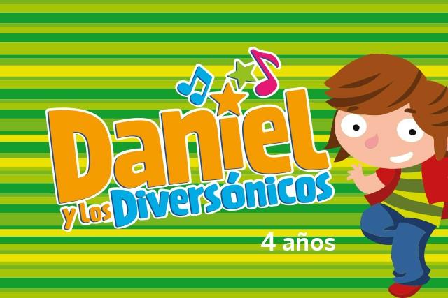 Daniel y los diversónicos (4 años)
