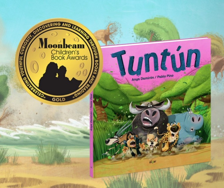 Tuntún ha sido premiado con el Moonbeam Children Book Award de Oro