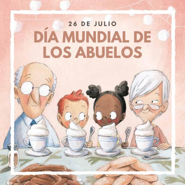 26 de julio, Día Mundial de los Abuelos. ¡Celébralo con el nuevo título de Rocio Bonilla!